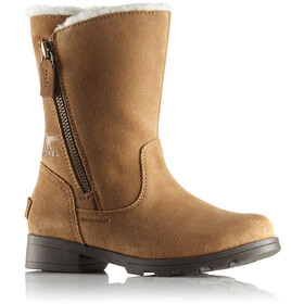 Sorel Emelie Foldover Boots Youth Camel Brown/Natural